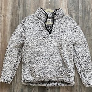 VS PINK Sherpa pullover